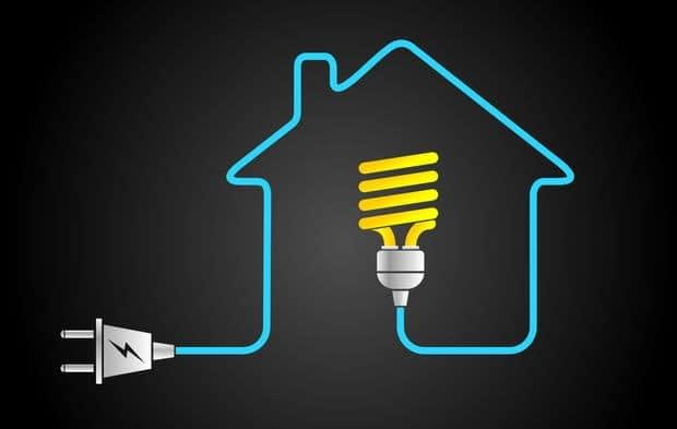 logo électricité service design