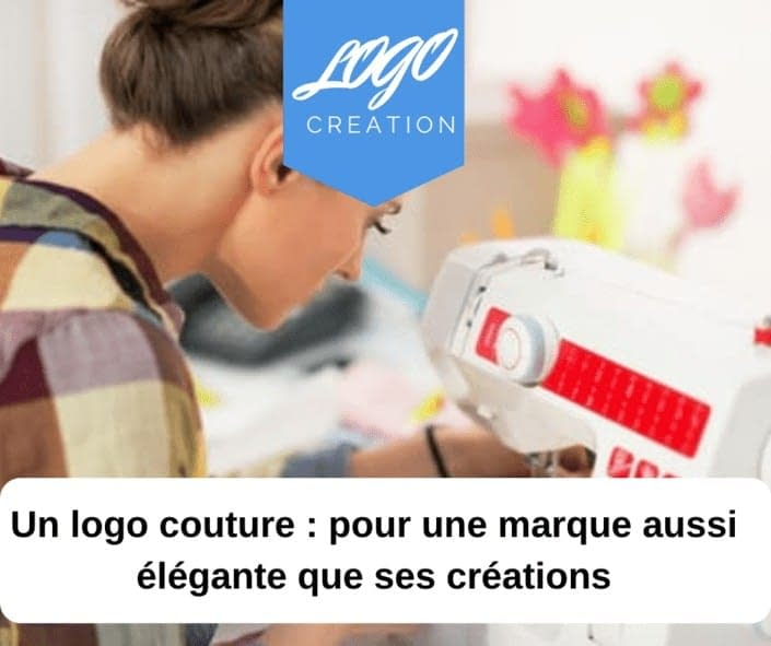 creation logo couture couturiere