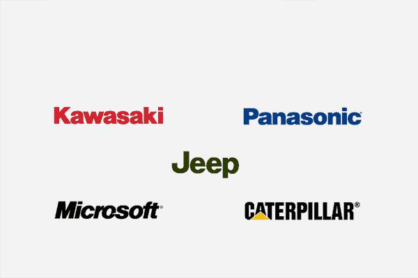 logo sans serif celebre