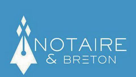 logo notaire breton