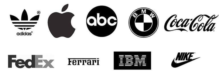 logo noire blanc