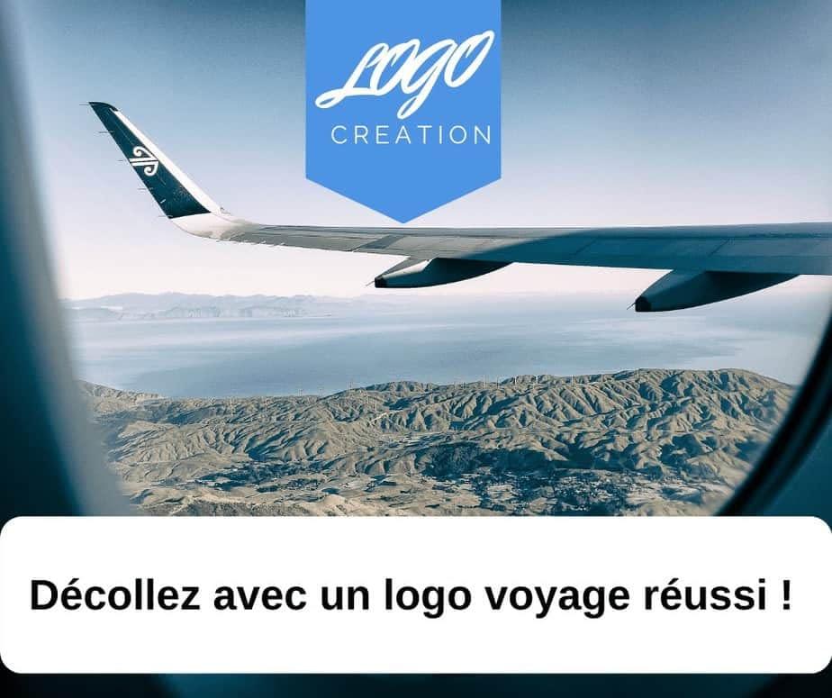 création logo voyage