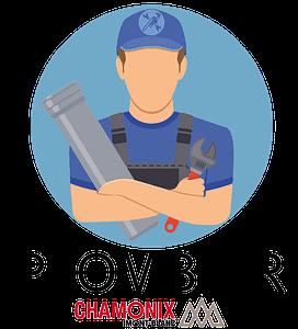 illustration logo plomberie