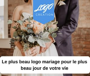 creation logo mariage