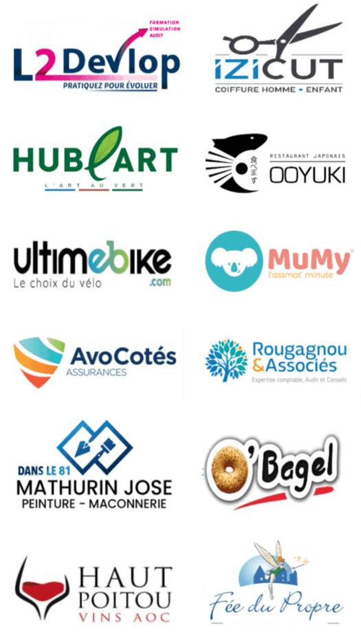 création logo professionnel unique