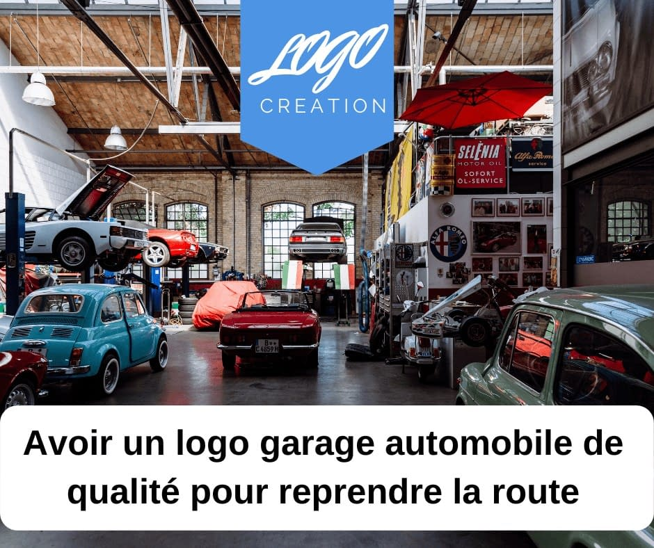 logo garage automobile