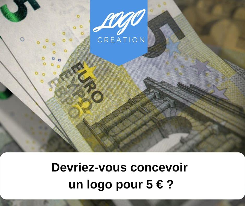 creation logo 5 euros