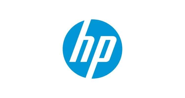 logo hp minimaliste