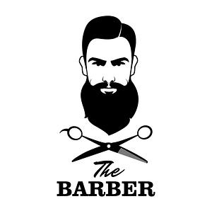 logo coiffeur barbier beauté