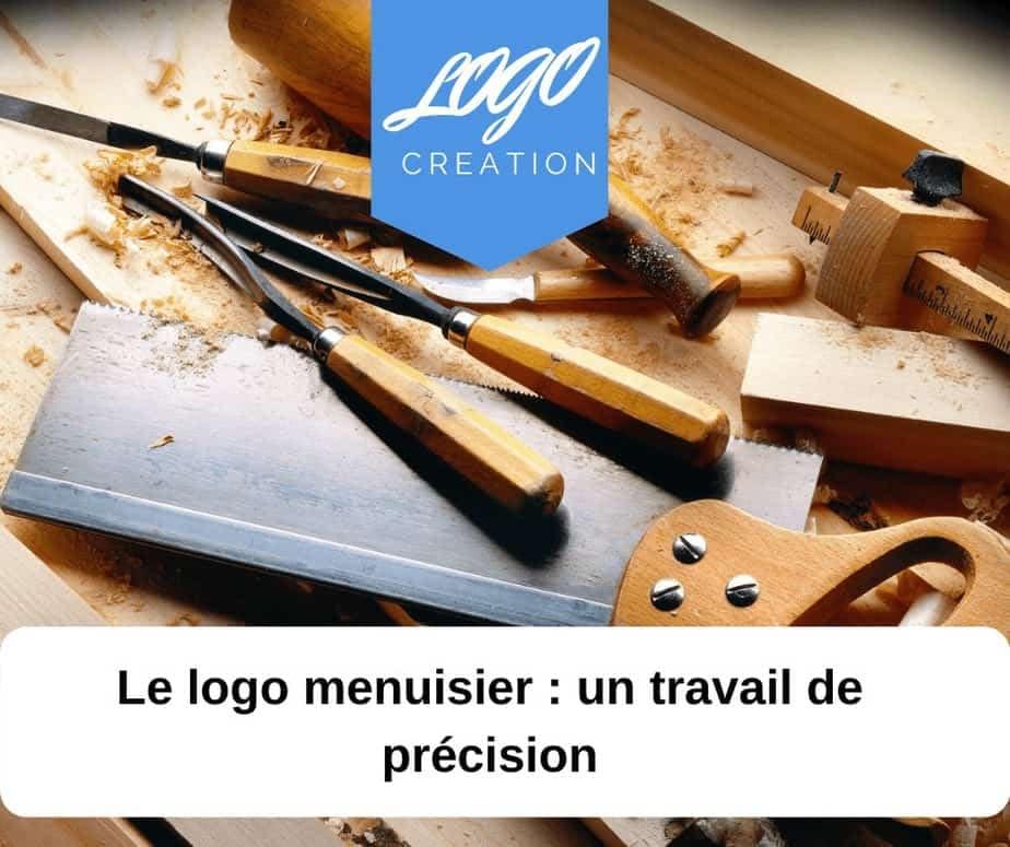 creation logo menuiserie