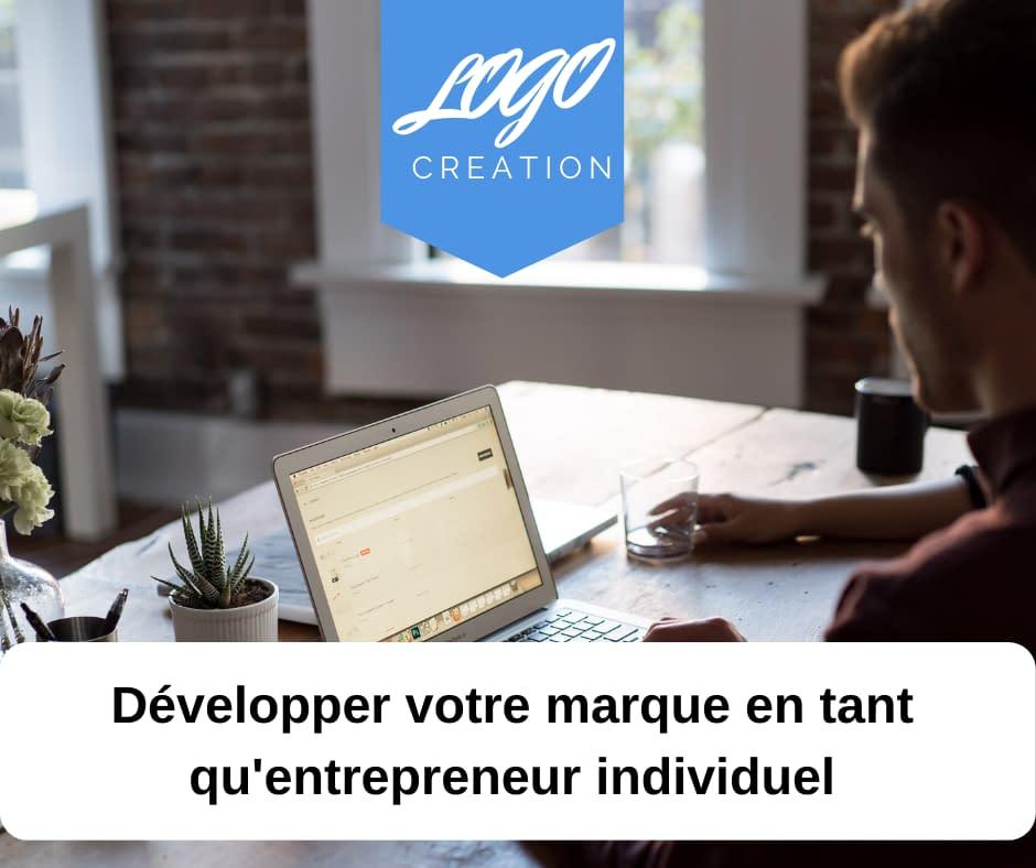 développer marque entrepreneur
