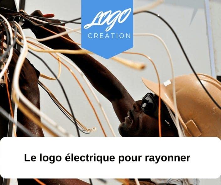 creation logo éléctricité électrique énergie