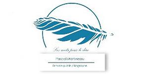 creation logo professionnel écrivain