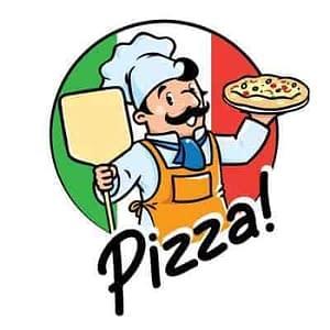 creation logo pizza