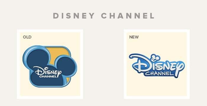 refonte logo disney channel