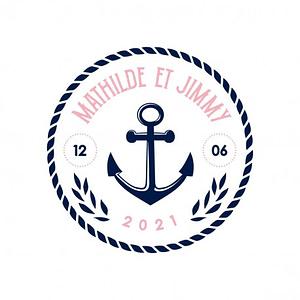 modele logo mariage