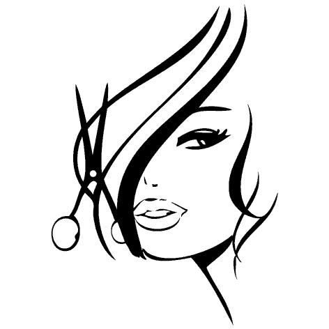 logo coiffure cheveux salon