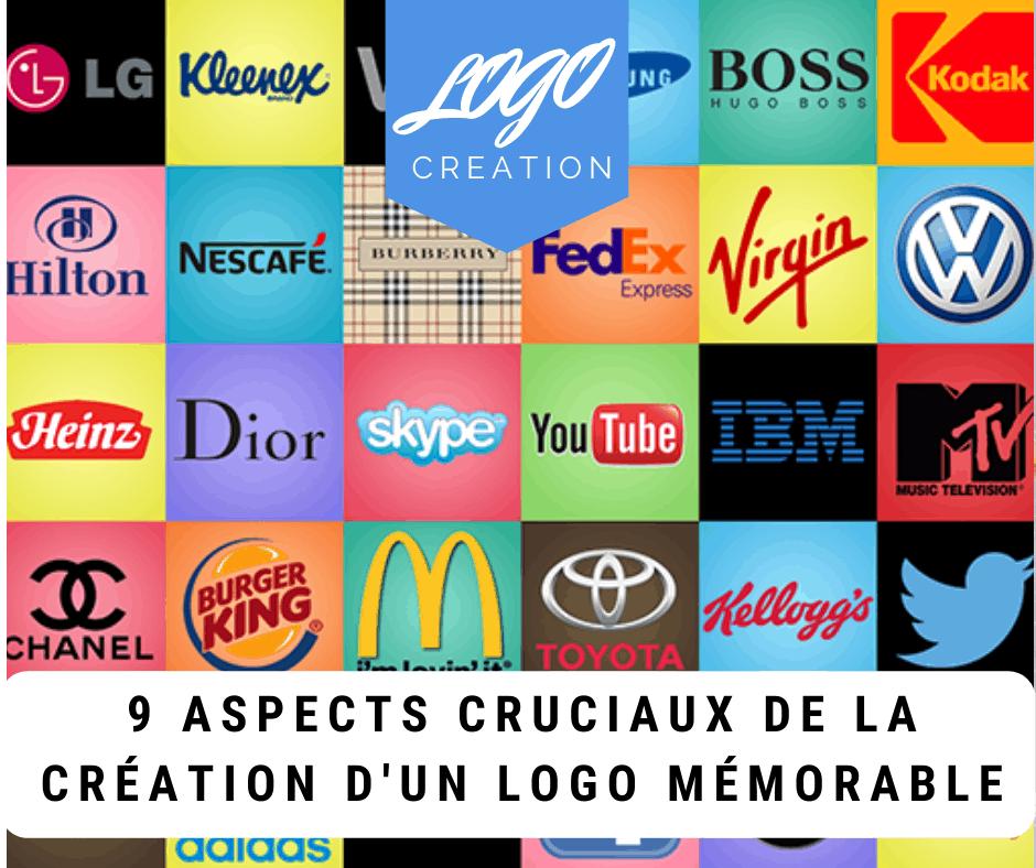 creation logo memorable