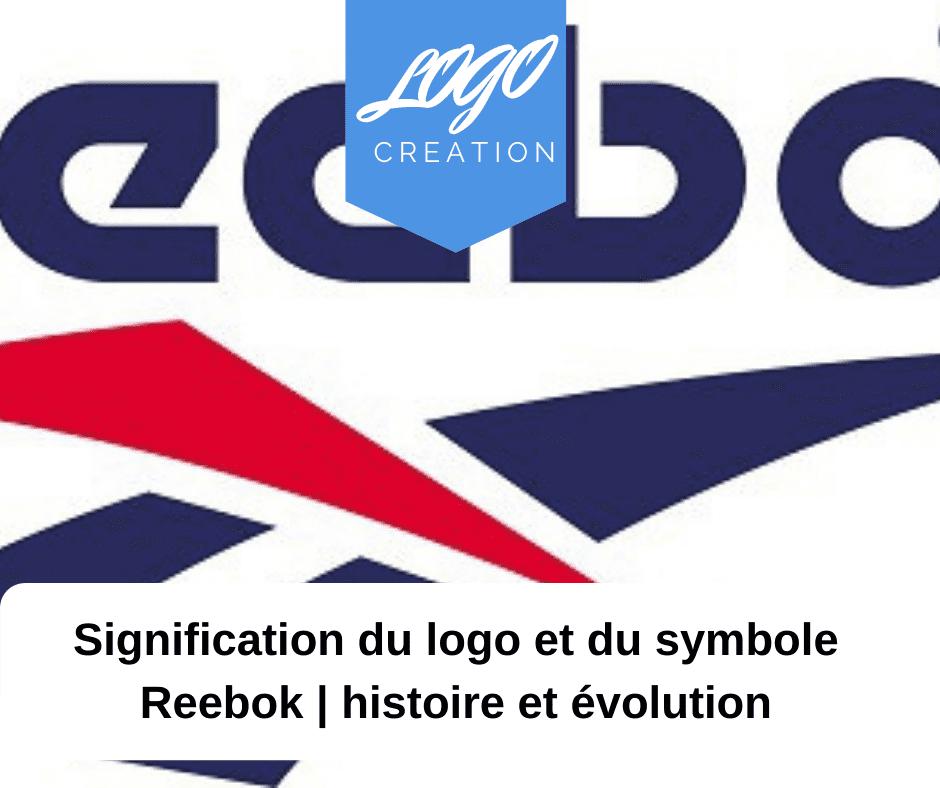 histoire logo reebok