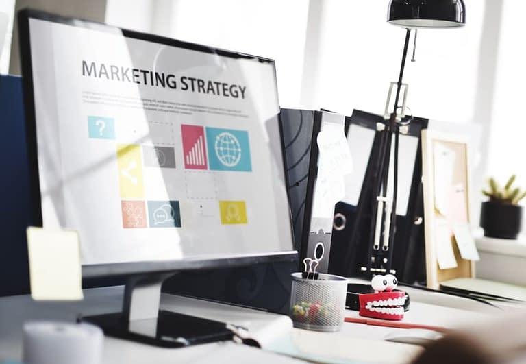 marketing site web