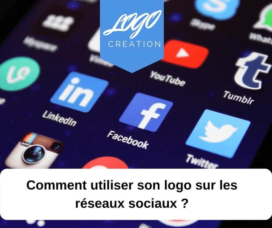 utilisation logo reseaux sociaux