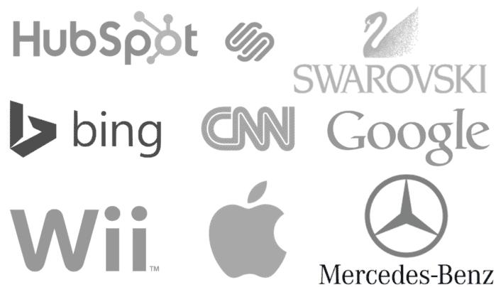 signification logo couleur gris