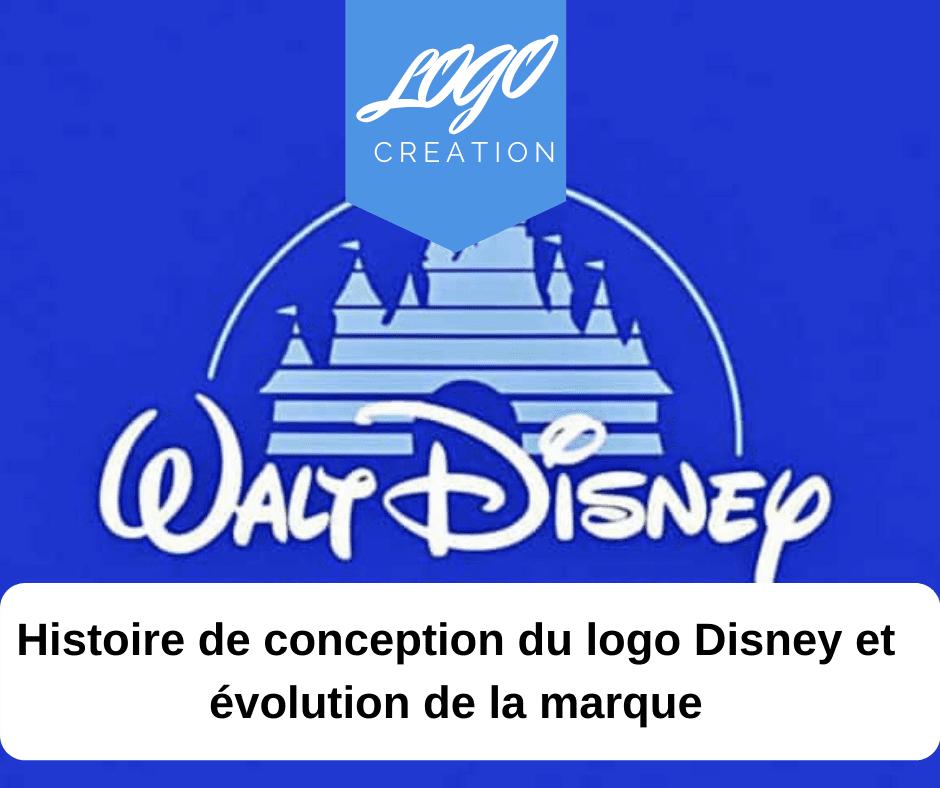 histoire logo disney