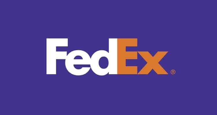 logo simple fedex