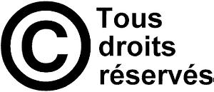 droit auteur logo