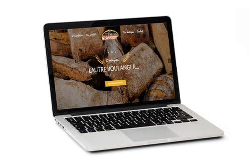 creation site web boulangerie